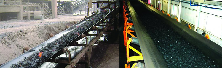 Flame resistant conveyor belts