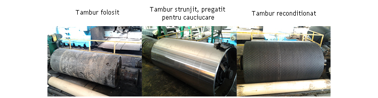 Reconditionare tamburi uzati